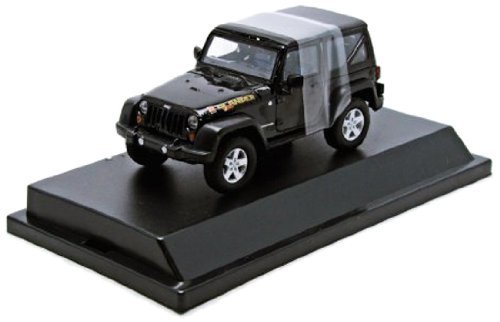 1/43 2010 Jeep Wrangler Islander Black Clear 86048