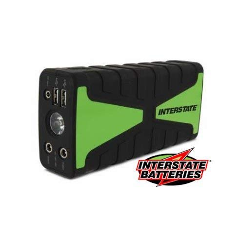 Interstate Batteries 16,800mAh Portable Automotive Jump Starter, Booster, Power Bank, Charger, 800 peak starting power, Power Supply, Jumpbox PWR7005