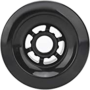Keenso Pro Skateboard Wheels, Electric Scooter Skateboards Tires PU 80A Shockproof Wheels with Bearings 90mm f