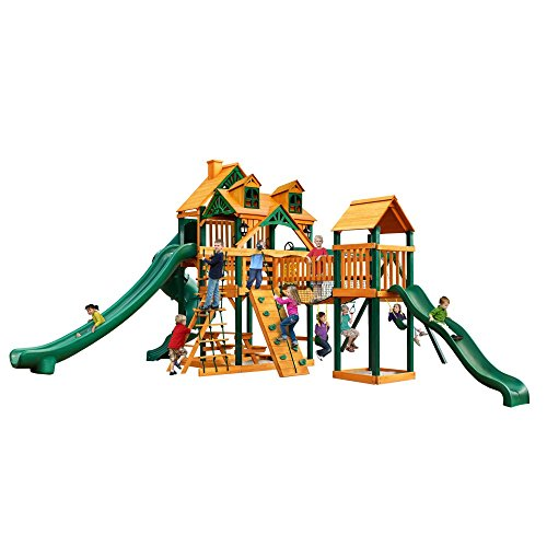 Malibu Treasure Trove II Swing Set - Malibu Solar Post