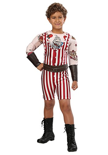 Vintage Strongman Boys Costume Medium -
