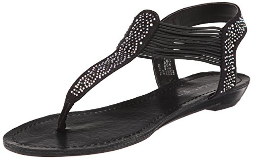 887865293941 - Madden Girl Women's Teager Flip Flop, Black Fabric, 6.5 M US carousel main 0