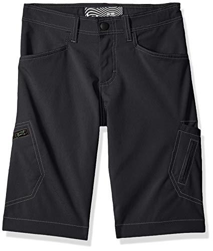 - LEE Boys' Big Dungarees Grafton Cargo Short, Pitch Black, 14 Husky