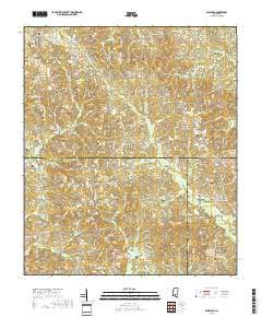 Bassfield, Mississippi topo map by East View Geospatial, 1 ...