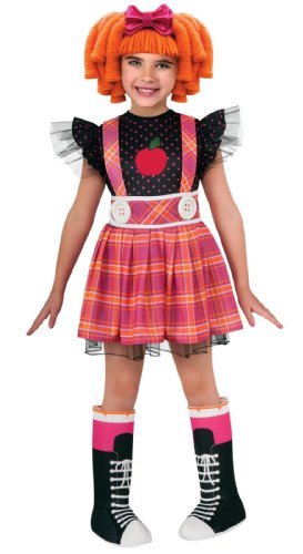 [Lalaloopsy Deluxe Bea Spells-A-Lots Child Costume Size Small (4-6)] (Lalaloopsy Costumes For Girls)