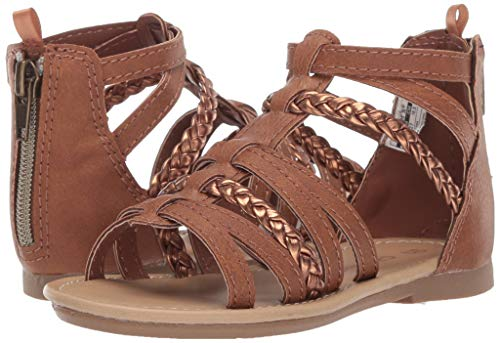 eff605a7426 Carter s Girl s Fenna Braided Gladiator Sandal