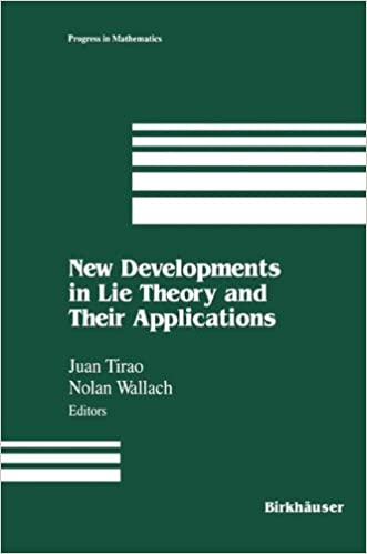 Book New Developments in Lie Theory and Their Applications (Progress in Mathematics)