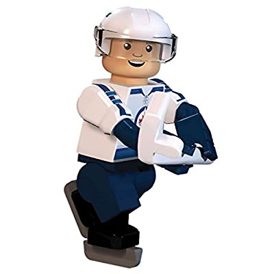 NHL Winnipeg Jets Blake Wheeler GEN 2 Limited Edition Minifigure, Small, Black