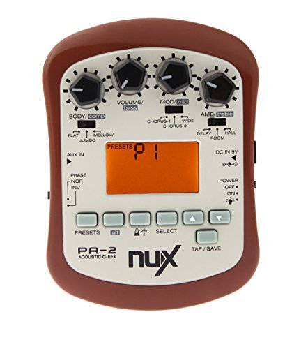 NUX PA-2 Acoustic Guitar Effect Multifunctional Portable Guitar Parts by NUX