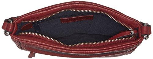 GERRY WEBER Damen Begur Shoulderbag Mvz Umhängetasche, 2.5x22x24 cm Rot (Dark Red)