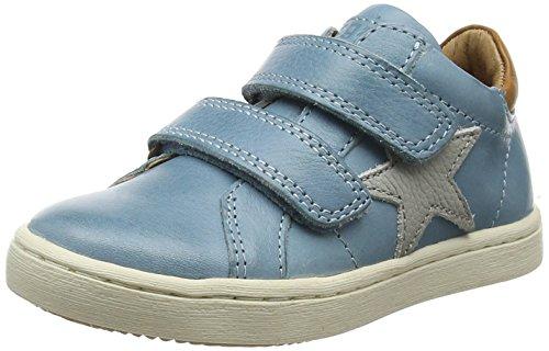 Bisgaard Klettschuhe - Zapatillas Unisex Niños Azul (Sky Blue)