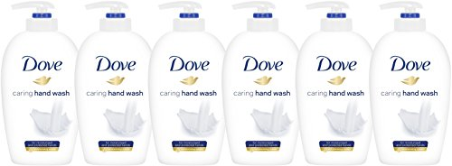Dove Caring Hand Wash, Original, 250 Ml / 8.45 Ounce (Pack of 6), White
