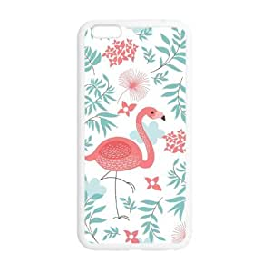 Beautiful Flamingo Fits iphone 6 5.5 TPU (Laser Technology) -Mobile,AT&T,Sprint,Verizon and International