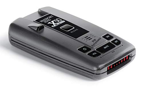 Escort Passport 8500X50 Black Radar Detector, Red Display (Radar Detector Escort Passport)