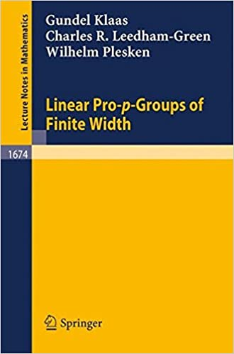 Linear Pro-p-Groups of Finite Width (Lecture Notes in