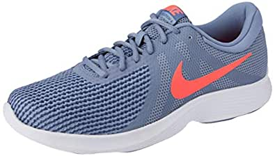 Nike Men's Revolution 4 Shoes, Ashen Slate, Flash Crimson-Diffused Blue, 7 US