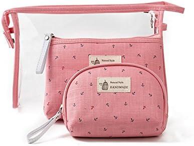 Amazon.com: vigourtrader Mujer Bolsa de cosméticos conjunto ...