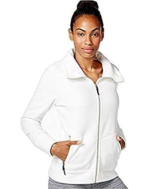 Calvin Klein Performance Women's Polar Fleece Jacket White (XL)