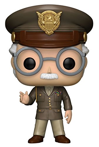 Funko - Figura de Capitan America The First Avenger-Stan Lee 23126