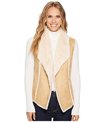 大予測子開発[トリバル] レディース コート Faux Fur Vest w/Shawl Collar Back [並行輸入品]