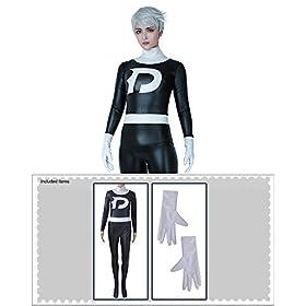 - 41NFsVRXp5L - Cosplay.fm Men's Danny Fenton Cosplay Costume Bodysuit