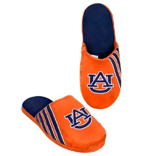 Auburn Tigers Hard Sole Stripe Slipper by My Sports Shop