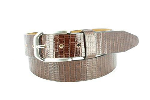 [Remo Tulliani Men's 35mm Edward Italian Leather Dress Belt] (Tulliani Calfskin Belt)
