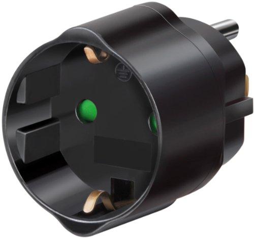 Brennenstuhl Reisestecker/-adapter Schutzkontakt für USA, Japan schwarz, 1508550