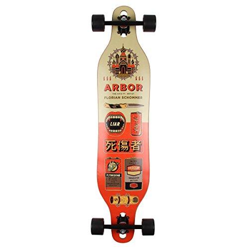 Arbor Axis 40 Complete Skateboard (Photo, 2018) (Arbor Longboard Snowboard)
