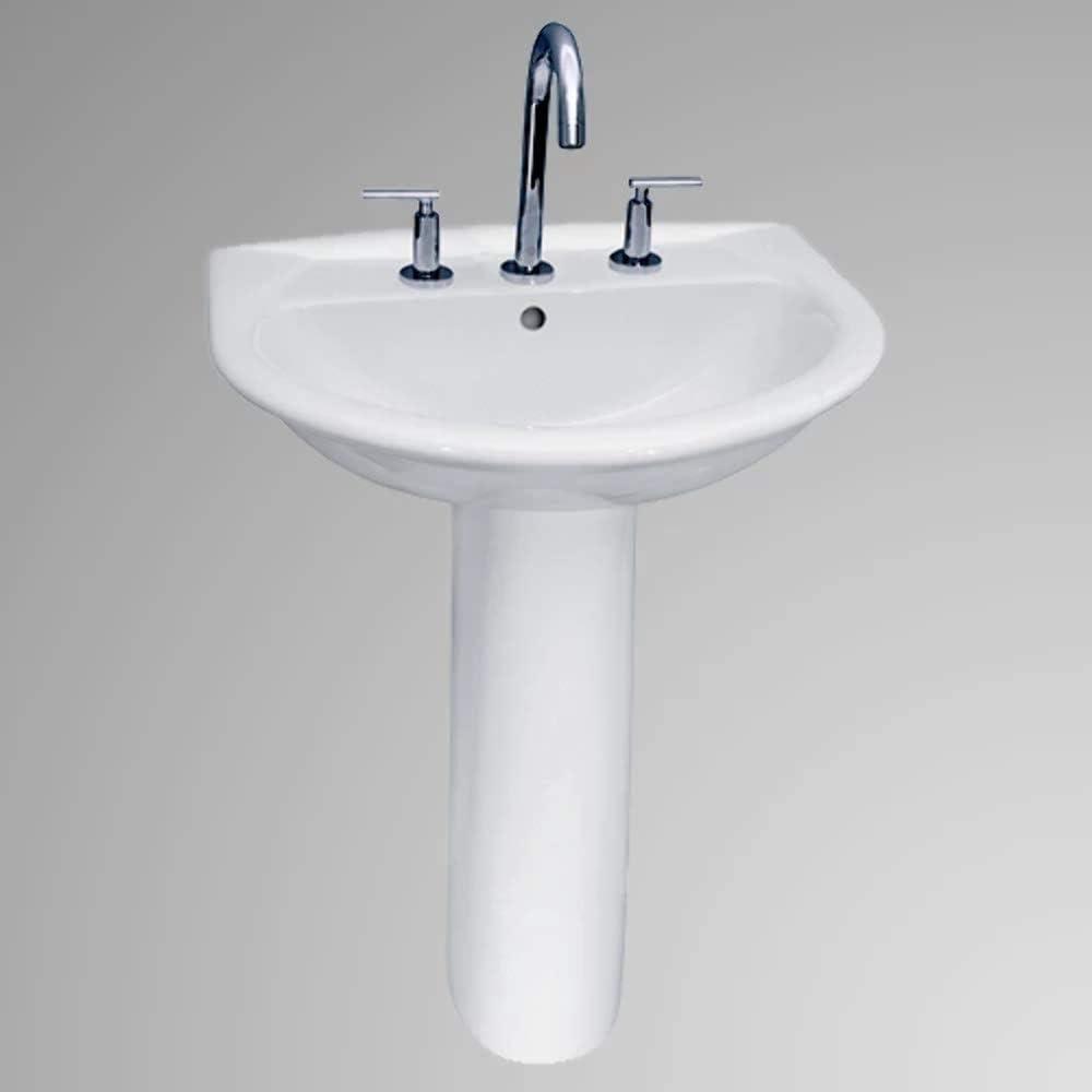 Sumter 200 Vitreous China Pedestal Sink