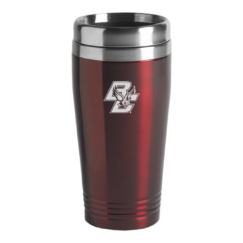Boston College - 16-ounce Travel Mug Tumbler - Burgundy