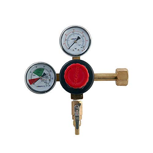 Taprite 12218 1 X co2 Dual Gauge Regulator by Taprite