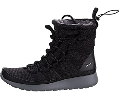 check out 9c11a 1fe2a ... Suede Black Anthracite Amazon.com Nike Womens Roshe One High SneakerBoot  - Black Cool Grey, ...