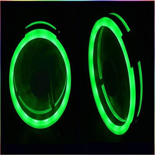 AAC - Ventilador LED para chasis de Ordenador (2 Unidades, 4 Pines ...