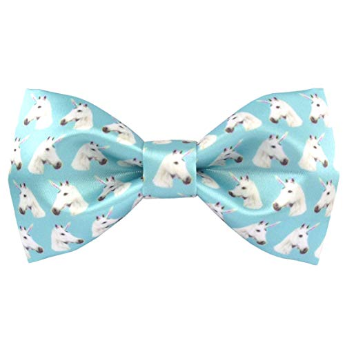 (Mens Formal Animal Pattern Pre-tied Bowties Satin Silk Bow Ties for Tuxedo | by DEVEMNU HOMME)