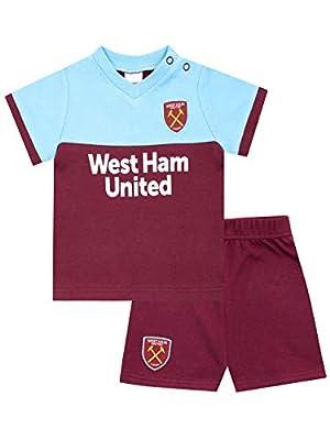 Premier League Baby Boys' West Ham United FC Pajamas
