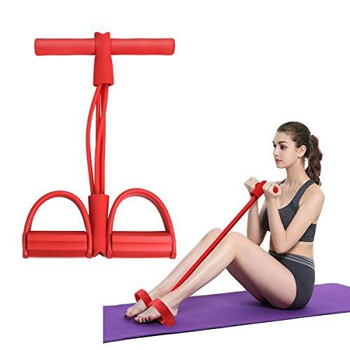 EQWR 1PCS Pull-Rope Gym-Equipment Resistencia elástica-Cinturón Ejercitador Fitness Pedal Músculo de látex