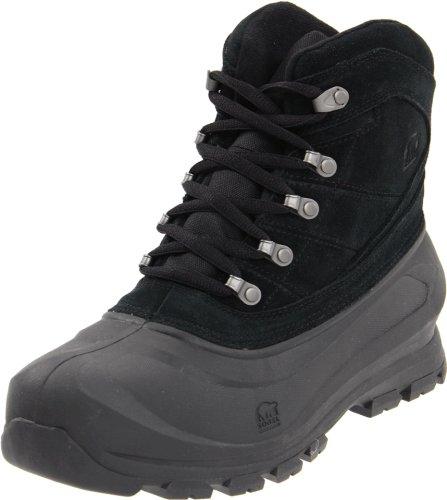 Sorel Men's Cold Mountain Snow Boot,Black,14 M US