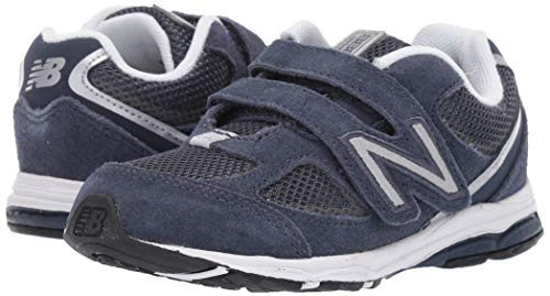 New Balance Boys' 888v2 Hook and Loop Running Shoe, Navy/Grey, 2 W US Infant by New Balance (Image #5)