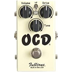 Guitar Overdrive Effects Pedal with Highpass and Lowpass Filters