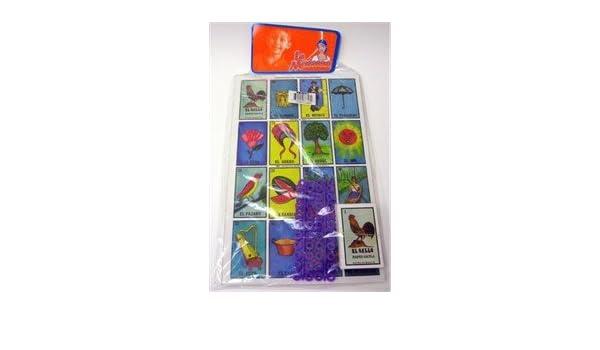 Amazon.com: Juego De Loteria Gigante: Toys & Games