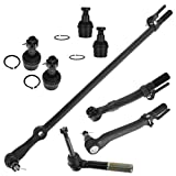8 Piece Kit Tie Rod End Drag Link Ball Joint LH RH Set for Ford F350 Super Duty Truck F250 Super Duty Truck