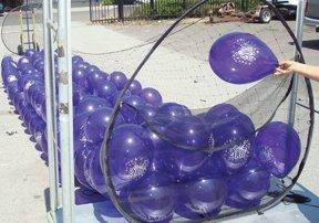 Boss 500 Zippered Wireframe Balloon Drop Net Pkg/1