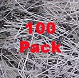 """Pack Of 100, Pretabbed 8"""" Lx-26 Wicks for Candle Making"""