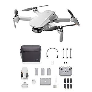 DJI Mini 2 Fly More Combo – Ultraléger et Pliable Drone Quadcopter, 3 Axes Gimbal avec Caméra 4K, Photo 12MP, 31 Minutes…