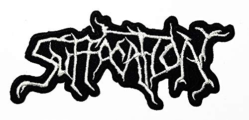 Music S American Death Metal Band Technical Death Metal Brutal Death Metal Music Logo Patch Embroidered Sew Iron On Patches Badge Bags Hat Jeans Shoes T-Shirt Applique