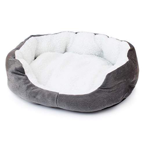 Krastal Dog Beds Mats Sofa Kennel Doggy Warm House Winter Cot Pet Sleeping Bed House Puppy Small Dog Blanket ()