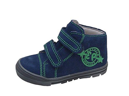 Juez niños zapato 0535-831-7200 atlántico, Gr. 20-25, Hydro gamuza, intercambiable blau