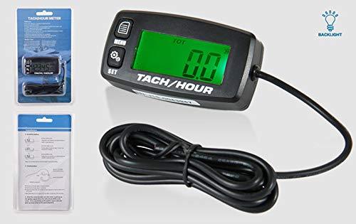 Runleader HM032R tacómetro inductivo con pantalla retroiluminada ...