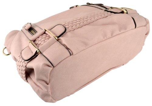 5b91b56a24 MG Collection Samantha Weave Belt Hobo Handbag - Buy Online in UAE ...